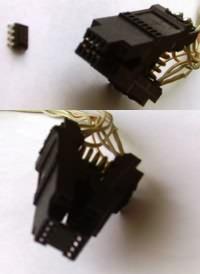 Programmierung Speicherchip mit Kontaktklemme
